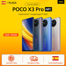 POCO X3 Pro – Smartphone NFC, Snapdragon 860, 5160mAh, charge rapide 33w, écran 6.67 pouces, 120Hz, caméra 48mp, nouvelle Version internationale