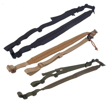 цена на Hunting Gun Sling Strap 2 Point Airsoft Rifle Strapping Belt Military Shooting Tactical Duty Carrying Accessories