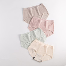 Women Graphene Antibacterial Butt Lifter Lingerie Luo Ammonia No trace Breathable Cotton Underwear Enhancer Briefs