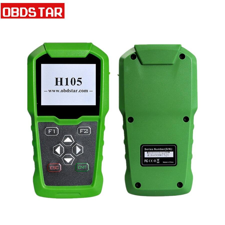 OBDSTAR H105 für Hyundai für Kia Auto Schlüssel Programmierer Unterstützung Alle Serie Modelle Pin-Code Lesen