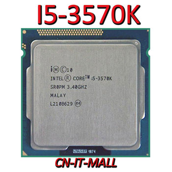 Pulled I5-3570K CPU 3.4G 6M 4 Core 4 Thread LGA1155 Processor
