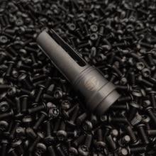 Muzzle-Device Toy Blaster Gel-Ball Flash Hider Steel Socom Airsoft 14MM SUREFIRE Metal