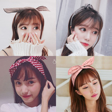 lady simple hair belt Korean decoration cross head women knotted hoop  accessories girls headbands