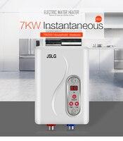 7000 w aquecedor de água elétrico instantâneo tankless instantânea aquecimento de água elétrico rápido 3 segundos chuveiro quente Aquecedores de água elétricos     -