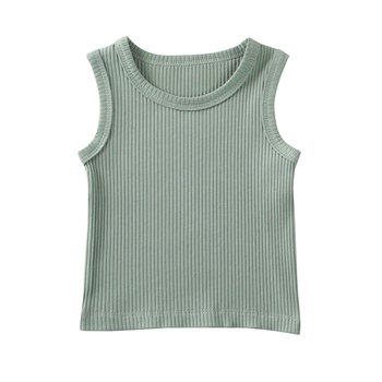 green cotton top