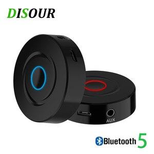Image 1 - DISOUR 2 EM 1 Receptor Bluetooth Transmissor Para TV Ricevitore Receptores CARRO 5.0 Música Estéreo AUX 3.5 milímetros de Áudio Sem Fio adaptador