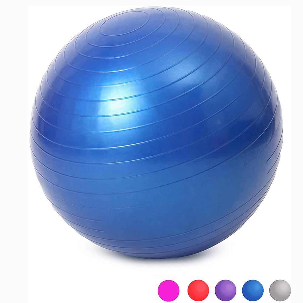 Sports Yoga Balls Bola Pilates Fitness Gym Balance Fitball Exercise Pilates Workout Massage Ball 45cm 55cm 65cm 75cm