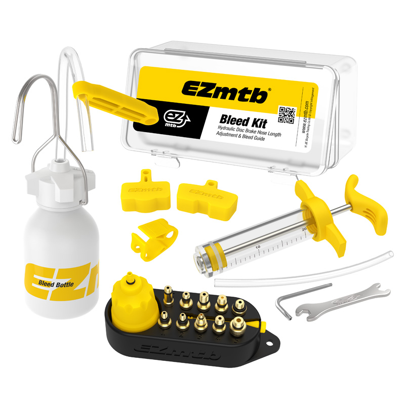 Bicycle Hydraulic Disc Brake Oil Bleed Kit Tools For SHIMANO, SRAM, TEKTRO, MAGURA Series MTB Road Bike Brake Repair Tool RR7306