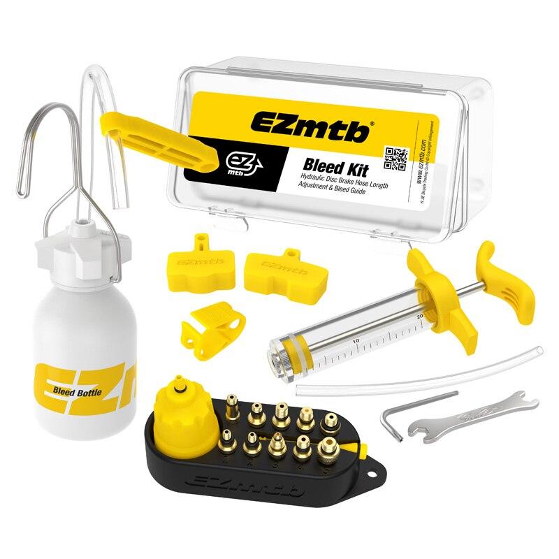 Kit de herramientas de purga de aceite de freno de disco hidráulico de bicicleta para SHIMANO, SRAM, TEKTRO, MAGURA Series MTB herramienta de reparación de frenos de bicicleta de carretera mr7306