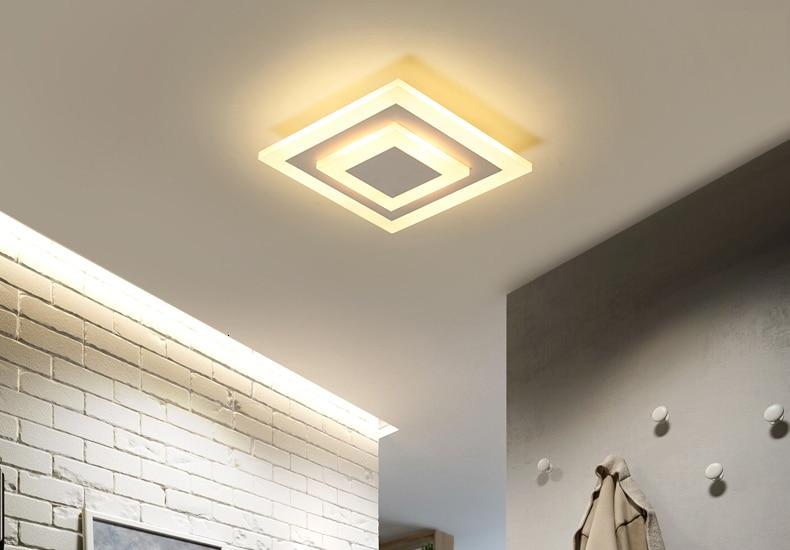 Hcf8b242db7ef4a1ba3ed7af11139b09b3 Modern ceiling lights 12w for hallway balcony corridor Coffe white light lamps bedroom luminaria teto acrylic lamparas de techo