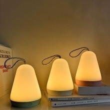 Светодиодный ночник уличный ручной ночсветильник с зарядкой