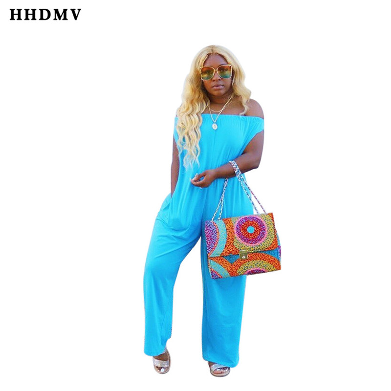 HHDMV WSM5086 casual languid is lazy style jumpsuits short sleeve card shoulder pockets comfotable loose jumpsuits long pants
