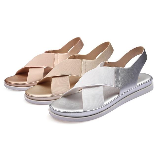 GlintLife   Comfy slip on sandals   For feet beauty