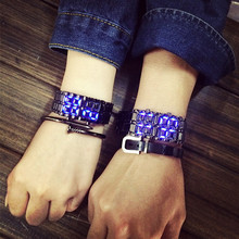 Bracelet Watch Clock Couple Electronic Men Fashion Women Led-Light Korean-Style Casual