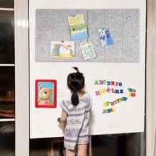 6PCS DIY Decoration Craft Felt Background Board Photo Display Wall stickers Household Message Board Children Kindergarten Decor