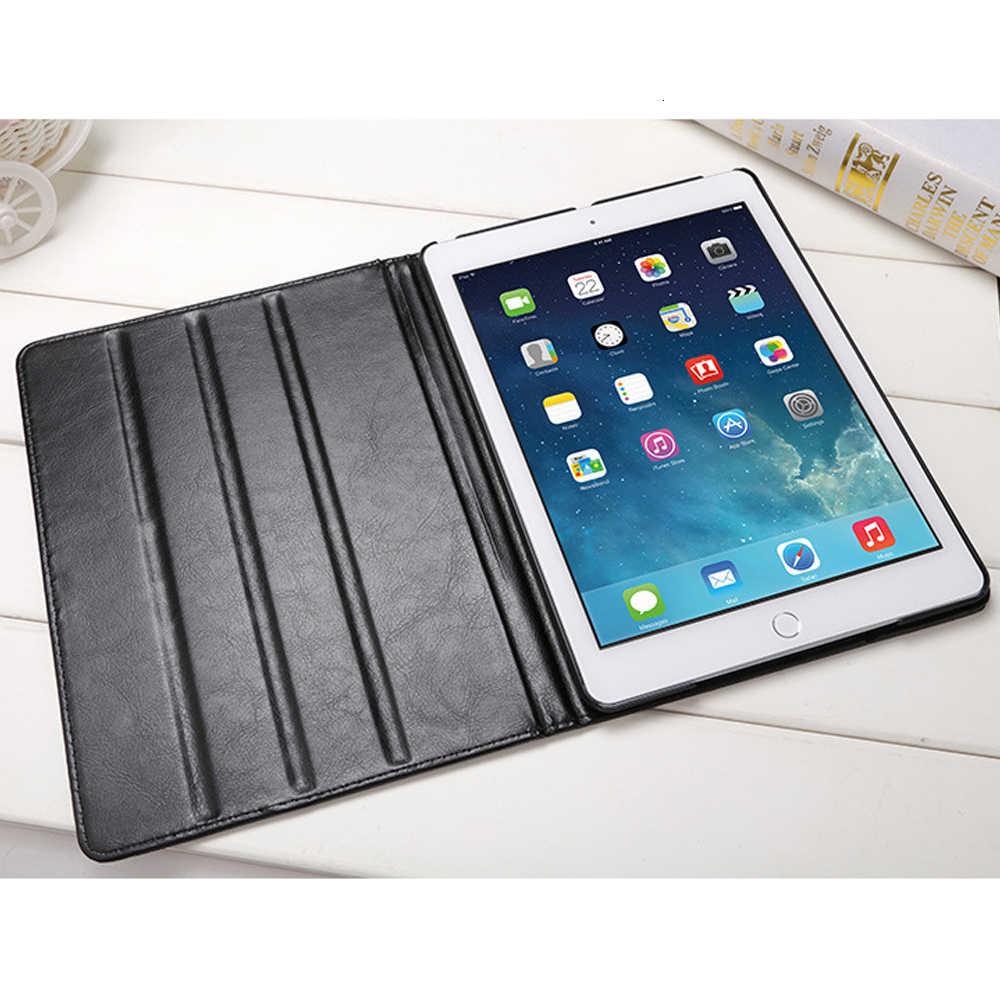 Dành Cho iPad Air Air 2 Air 1 Ốp Lưng Da PU Wakeup/Ngủ Cover Cho iPad 2018 2017 9.7 bao Da Smart Cover Mỏng Dành Cho iPad Air 2 Ốp Lưng