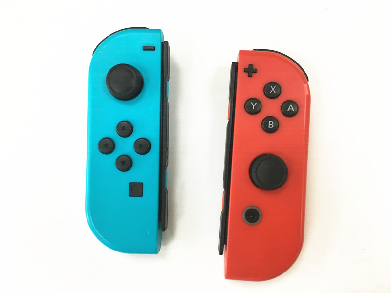 Original 90% New Red And Blue Wireless Bluetooth Controller For Nintend Switch NS Switch Console