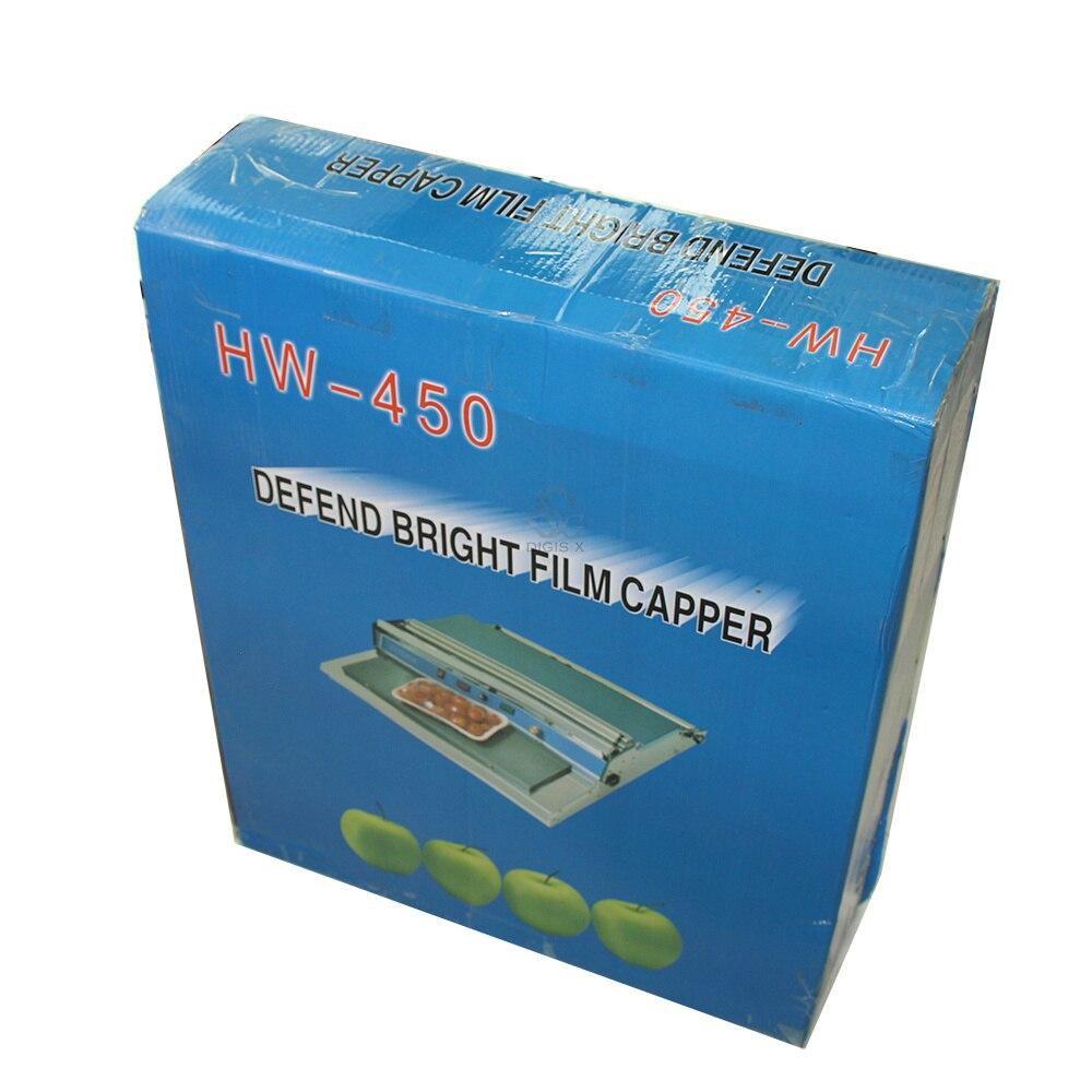 Купить с кэшбэком Free Shipping HW-450 Plastic fresh film sealing machine