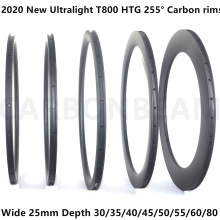 Bicycle-Rims Road-Rims Carbon 700c Wide-30mm 50mm 25mm 40mm 38mm 35mm T800 280g 45mm