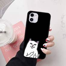 Ripndip Case Voor Iphone Case Ripndip Fashion Case Coque Fundas Voor Iphone 11 Pro Max Plus Se 2020 Gevallen Cover voor Ik Telefoon 11(China)