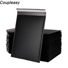 10Pcs 5 sizes Matte Black Bubble Envelopes Bags Foam Mailers
