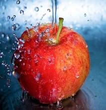 Алмазная 3d вышивка вода и яблоко алмазная живопись своими руками