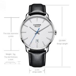 Image 5 - CADISEN2020 Nieuwe Top Mannen Automatische Mechanische Horloge Luxe Merk Mechanisch Horloge Militaire Business Leisure Waterdichte Manly
