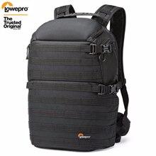 شحن سريع حقيقي Lowepro ProTactic 350 AW DSLR كاميرا صور حقيبة كمبيوتر محمول على ظهره مع جميع غطاء الطقس