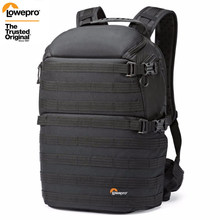 ProTactic transporte rápido Genuine Lowepro 350 AW DSLR Camera Foto Saco Laptop Mochila com All Weather Cover(China)