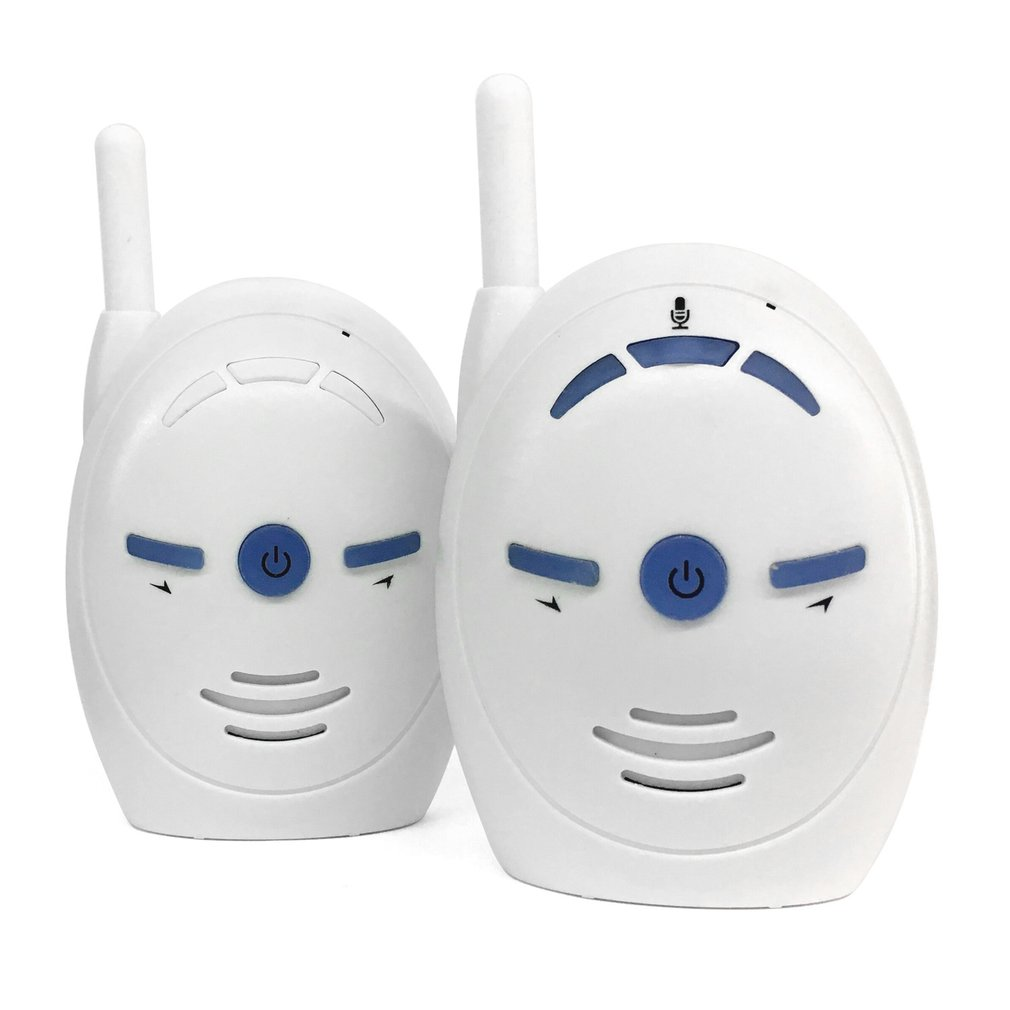 Portable 2.4GHz Wireless Digital Audio Baby Monitor Sensitive Transmission Two Way Talk Crystal Clear Cry Voice Alarm EU US Plug