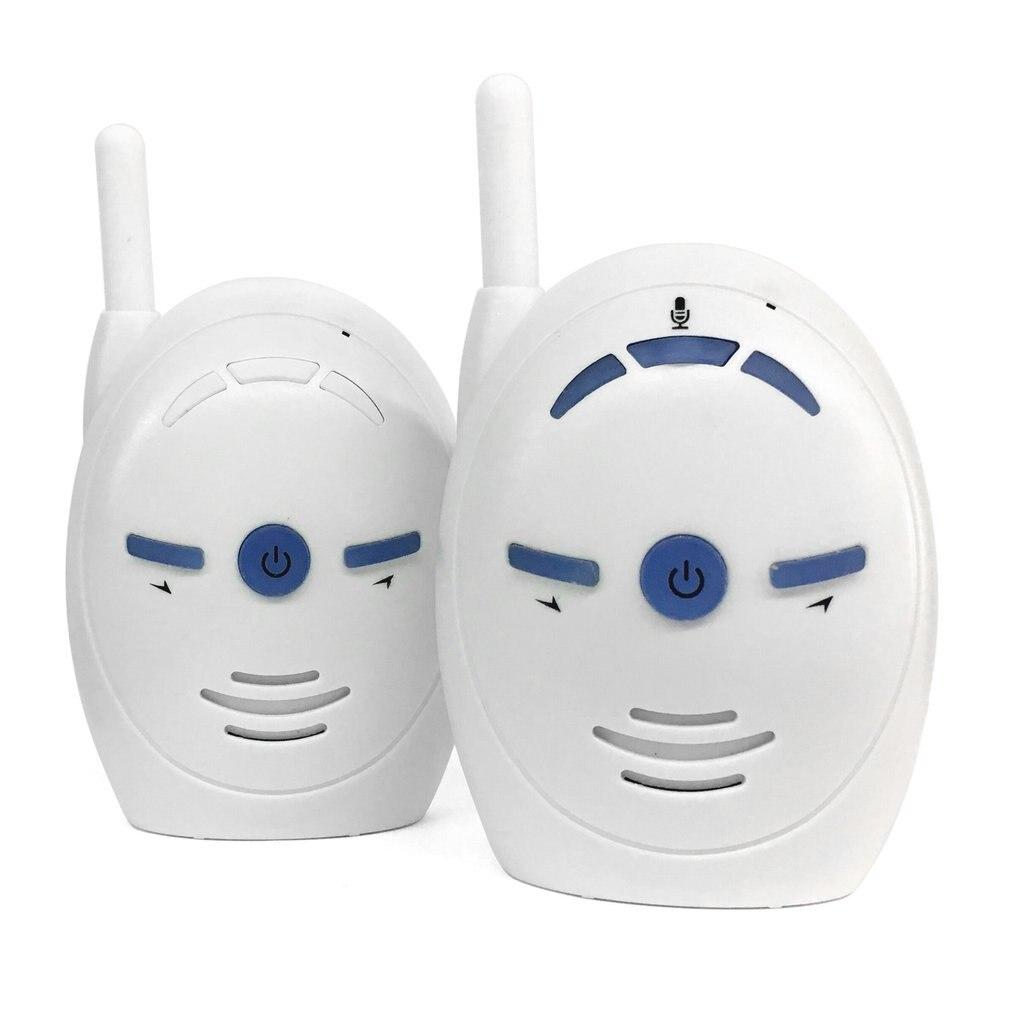 Przenośny 2.4GHz bezprzewodowy dźwięk cyfrowy niania elektroniczna baby monitor wrażliwe transmisji rozmowa dwukierunkowa krystalicznie czyste płakać alarm głosowy ue wtyczką amerykańską