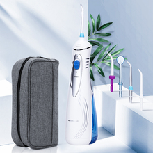 Portable USB Oral Irrigator Electric Water Dental Flosser 3 Modes Teeth Cleaning 300ml Rechargeable Dental Irrigator Water Jet cheap TackOre Electric Oral Irrigator AR-W-06 Adults IPX 7 grade Less Than 75db 1200 rpm 40-120Psi 1740001801 3Mode(Normal Soft Pulse )