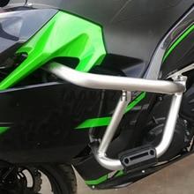Motocykl remont zbiornika ochrony Crash silnika bary rama dla kawasaki ninja 400 2018 2019