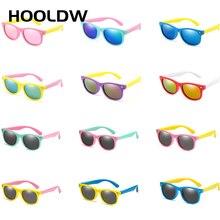 HOOLDW 26 Color Kids Sunglasses Boy Girls Children Polarized Sun Glasses Silicon