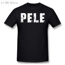 Футболка pele Мужская футболка Черная для фитнеса в стиле Харадзюку