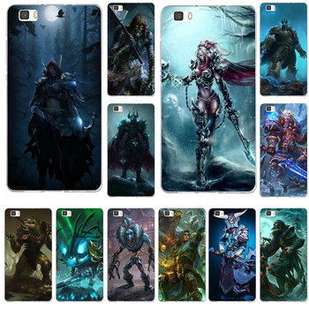 Soft TPU Silicon Phone Case for Huawei P8 P9 P10 Lite Mate 10 Pro Y3 Y5 Y6 II Y7 Honor 6X 7X 9Plus Bag Games Lich King Stormrage image