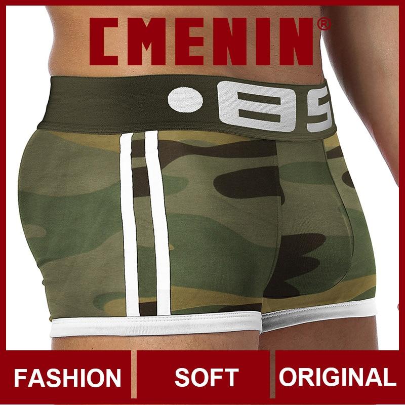 Ins Style 2020 New Underwear Men Boxers SpandexMens Boxershorts Underware Boxer Shorts Trunks Man BS