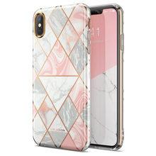 I BLASON Für iPhone Xs Max Fall Cosmo Lite Stilvolle Premium Hybrid Slim Schutz Stoßstange Marmor Zurück Fall mit Kamera Schutz