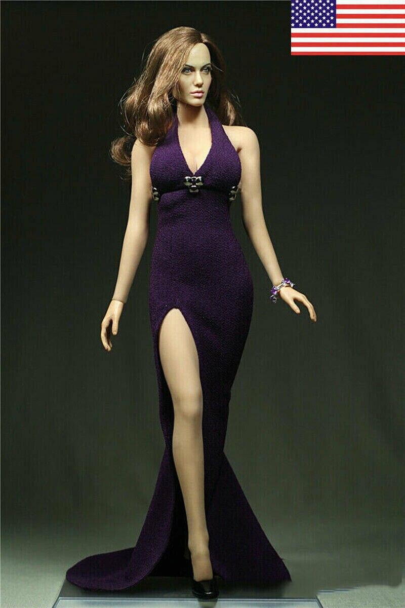 """1//6 Jill TESTA SCULTURA INTAGLIO donna modello F004 Capelli Giallo per un/'azione figura 12/"""""""