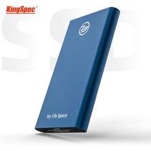 Kingspec unidad externa de estado sólido SSD 512gb, USB 3,1, 500gb, para ordenador portátil