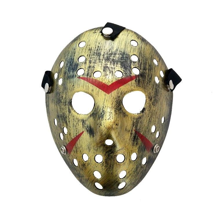 Image 2 - Stylish Jason Voorhees Friday the 13th Horror Hockey Mask Scary Halloween Mask Party MasksParty Masks