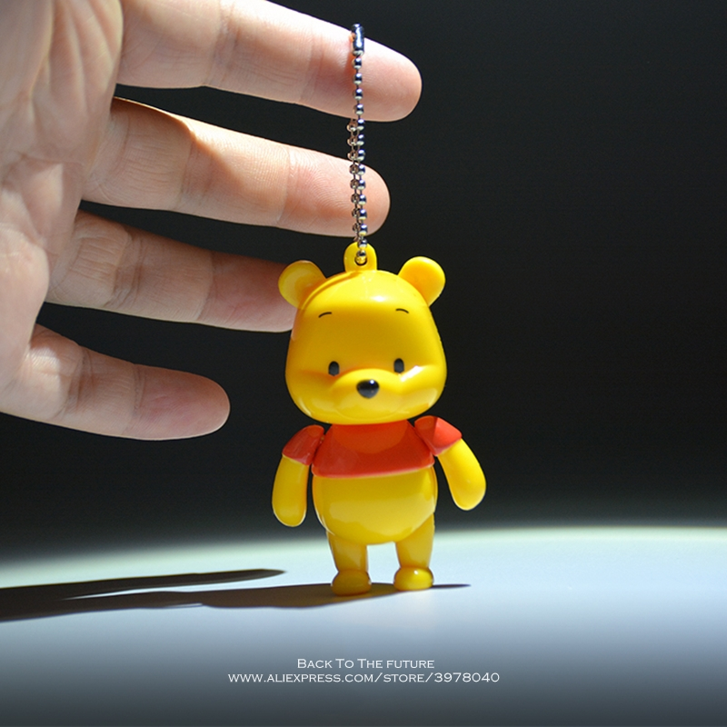 Disney Winnie The Pooh 7cm Action Figure Anime Decoration Collection Figurine Mini Kid Toy Model For Children Gift