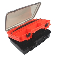 New Hot Waterproof Fishing Tackle Box Fishing Lure Spoon Hook Bait Storage Case Utility Box Carp Portable Outdoor Fishing Access|Fishing Tackle Boxes| |  -