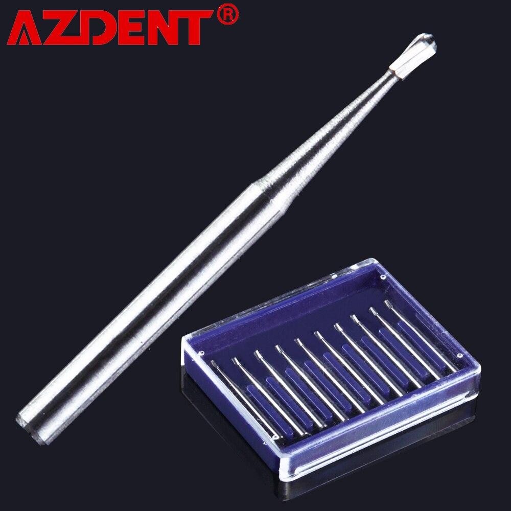 FG330 10pcs/Pack Dental Carbide Burs Pear-shaped Type High Speed Tungsten Steel burs