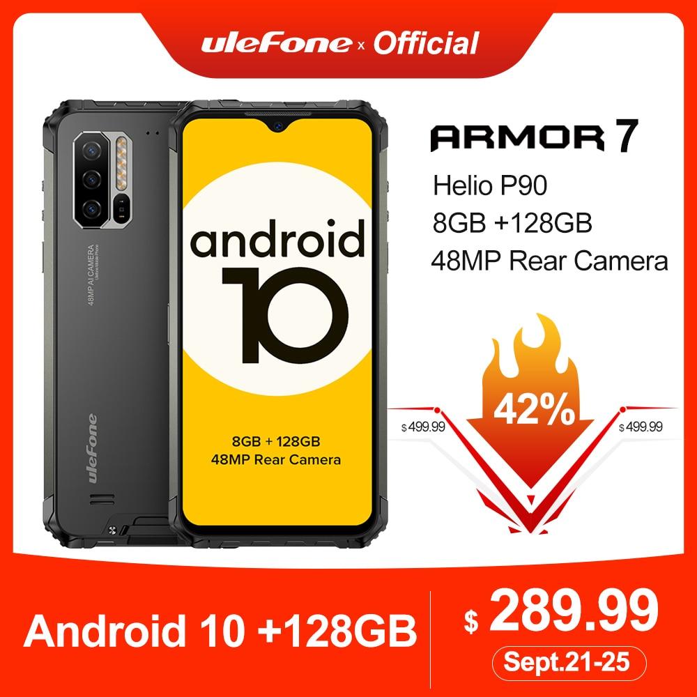 Ulefone Helio P90 Armor-7 Android 128GB GSM/CDMA2000/WCDMA/.. Nfc Adaptive Fast Charge