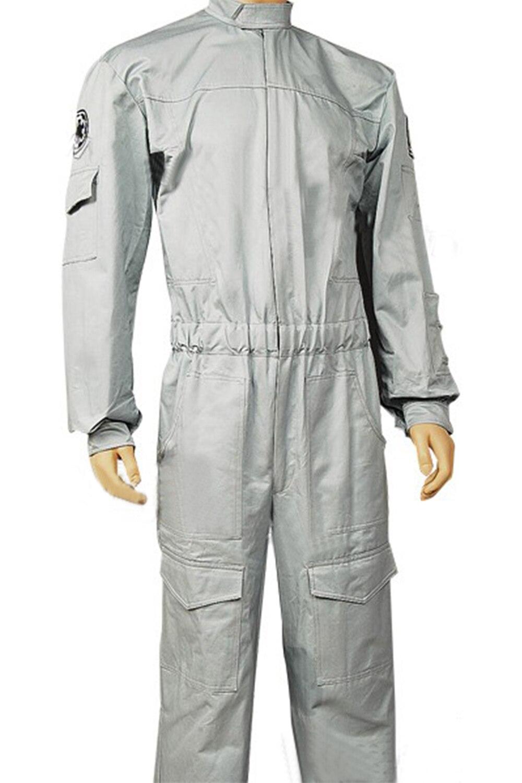 Imperial Technician AT ST Flightsuit Uniform Jumpsuit Copslay Costume For Adult Men