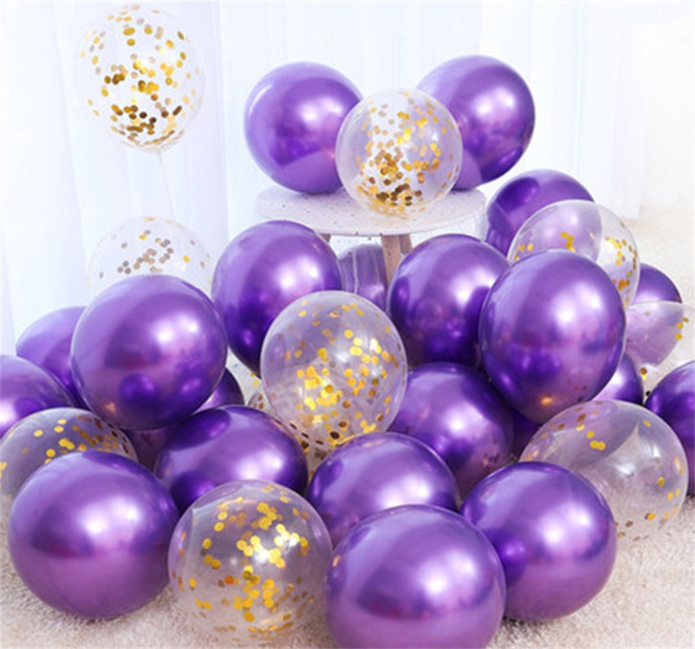 18pcs 10inch Multicolor Latex Balloons Matte Helium Globos For Wedding Decoration 20