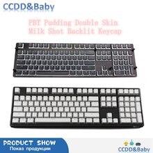 Колпачки для клавиш rgb 143 клавиши ansi раскладка pbt пудинг
