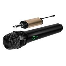 ميكروفون ديناميكي لاسلكي 3 c ، نظام ميكروفون لاسلكي UHF مع جهاز استقبال محمول لحفلات المنزل ، كاريوكي ، الاجتماع