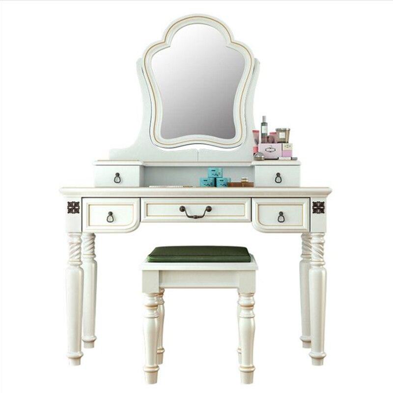 Cama de alta qualidade Moda Europeia Francês Esculpido cama nightstands bng019